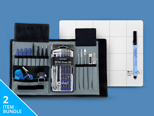ifixit pro tech toolkit bundle dudeiwantthat exclusives. Black Bedroom Furniture Sets. Home Design Ideas