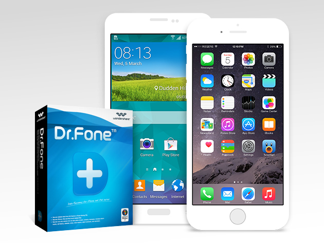Dr. Fone iOS & Android Data Recovery | StackSocial