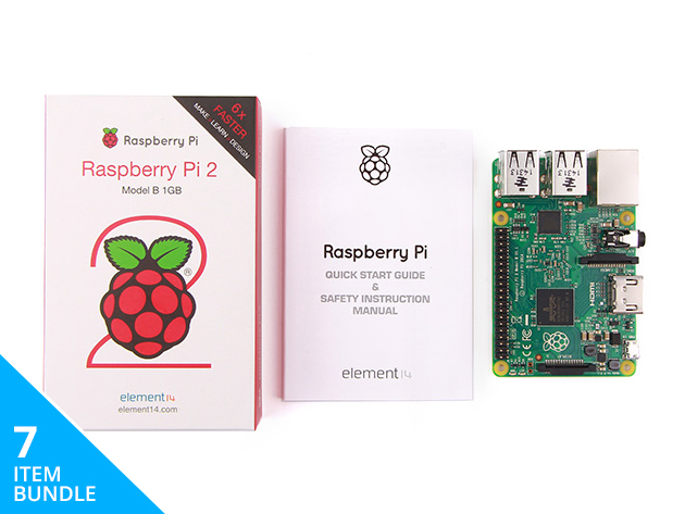The Complete Raspberry Pi 2 Starter Kit
