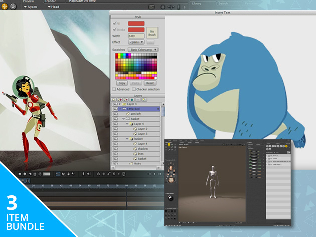 Digital Animation Bundle