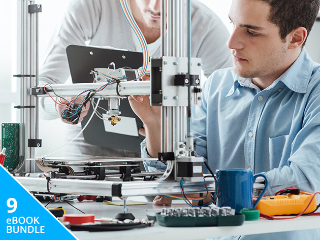Pay What You Want: DIY Hardware & Internet of Things eBook Bundle - From 3D Printers to Robots to Raspberry Pi & More, This 9-Book Bundle Is Packed With Constructive Fun