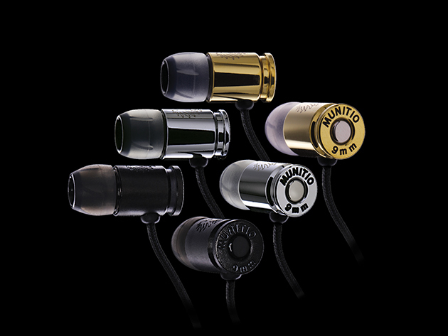 Munitio NINES Tactical Earbuds - Earbuds Have Never Sounded So Good: Unmatched Purity, Minimal Distortion