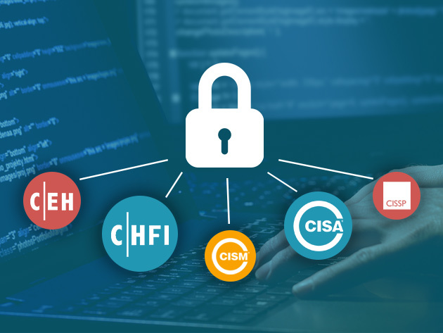 Leap Towards a Career in Ethical Hacking with 60+ Hours of Prep Toward CISM, CISA, & More Certification Exams