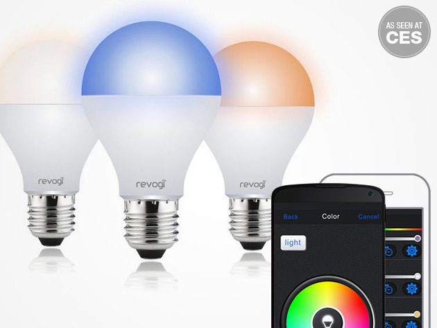 Revogi Smart Color LEB Bulb